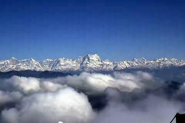Chaukhamba Peak from Chopta