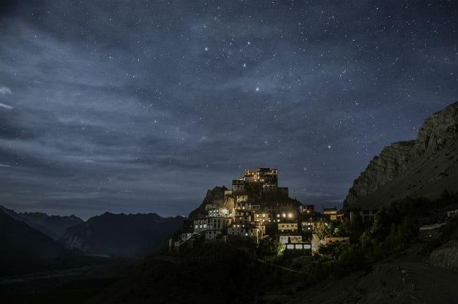 Key Monastery at Night