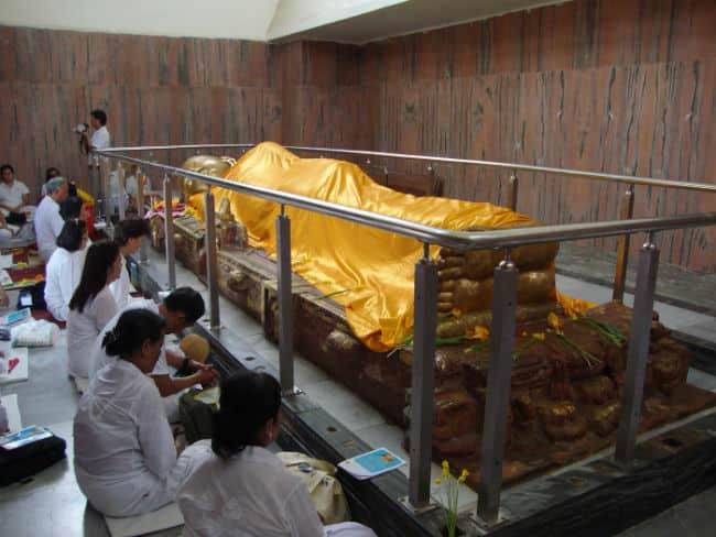 kushinagar buddha samadhi