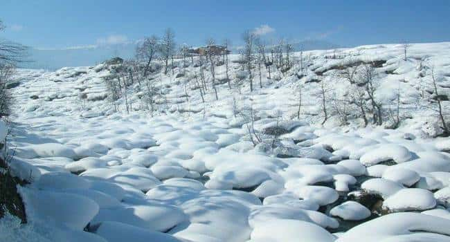 Bhadarwah in Winter