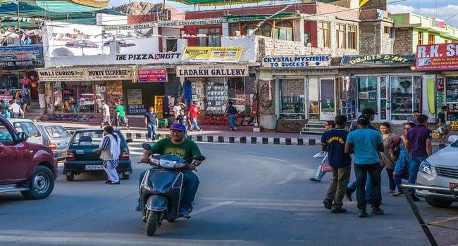 leh city market