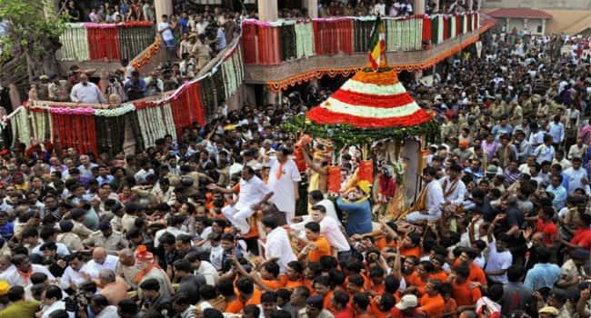 Jagannath Rath Yatra Festival In Ahmedabad