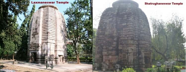 Laxmaneswar, Shatrughaneswar temples