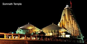 somnath-temple-at-night