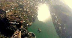Aerial View of Bhimtal Lake
