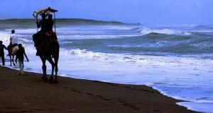 Camel Ride at Somnath Beach