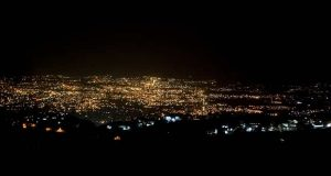 Night Lights of Dehradun