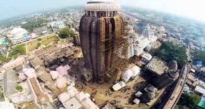 Puri Jagannath Temple Aerial View