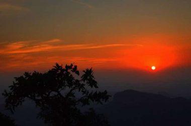 Sunset at Panchmarhi, Madhya Pradesh