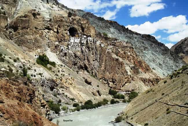 Phugtal monastery in Ladakh