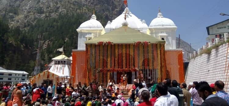 gangotri dham opening ceremony
