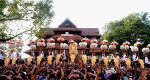 Thrissur Pooram Elephants Parade