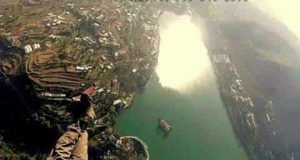 Aerial View of Bhimtal Lake
