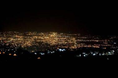 Night Lights of Dehradun