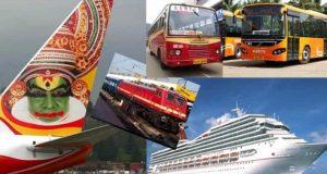 how to reach Kerala